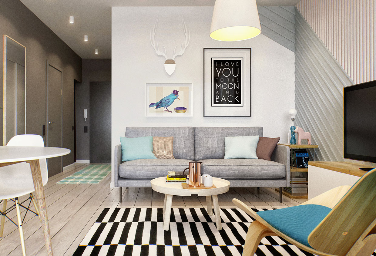 5 Ways to Improve a Small Living Room - Fairborne Homes on Bedroom Ideas For Small Rooms  id=55533