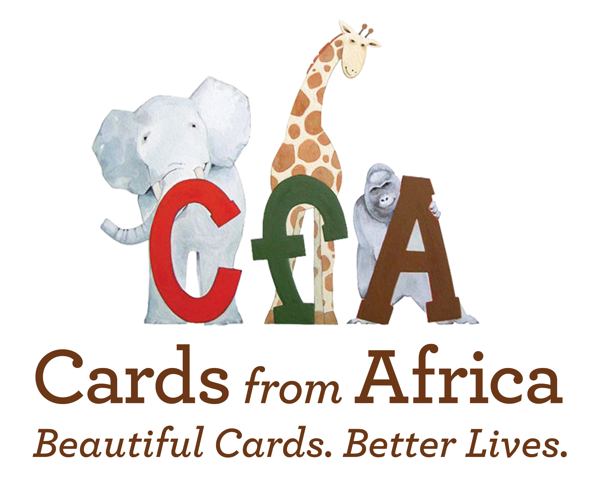 Cards From Africa Beautiful And Just Fair Christmas Fayre