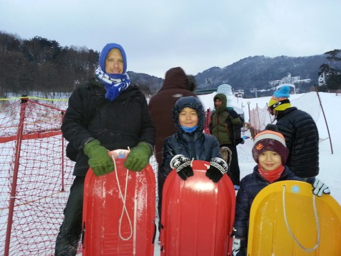 Family fun in Muju