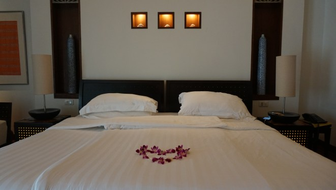 Large beds in the Mai Samui rooms.