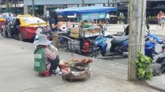 Save on food using little food stalls like this.