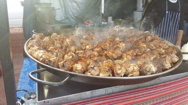 Lamb shanks were a winner at the Bunbury Food Truck Fiesta.