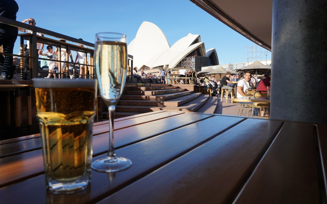 Picture of the Week: Drinks and an Opera House