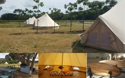 It's Glamping – Boogaloo Style