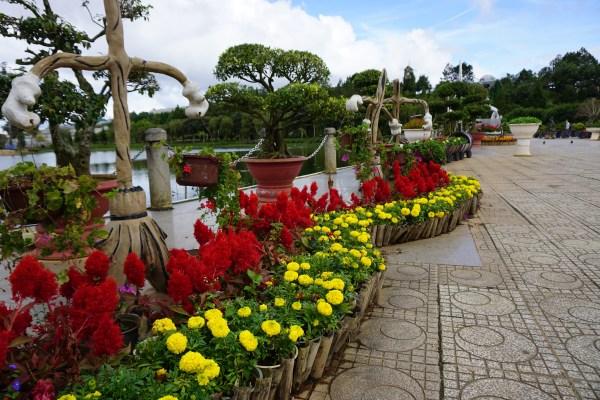Da Lat flower centre