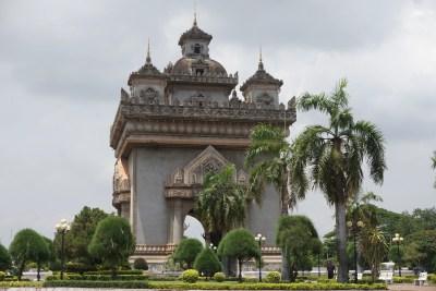 Patuxai Monument, Vientiane Laos