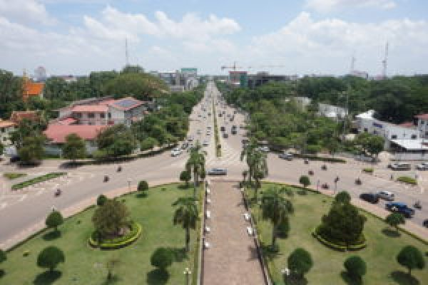 Overview of Vientiane
