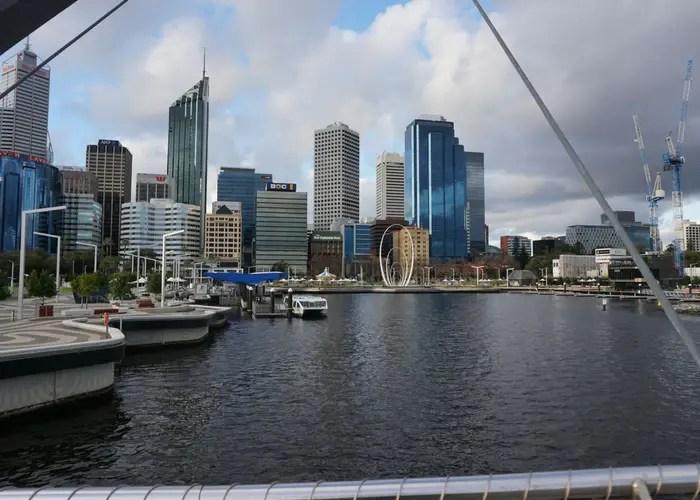 Elizabeth Quay in Perth, Western Australia