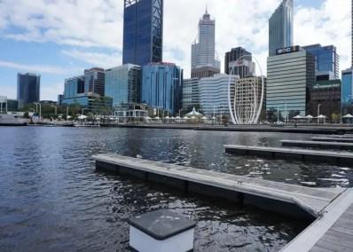 Elizabeth Quay, Perth, Western Australia.