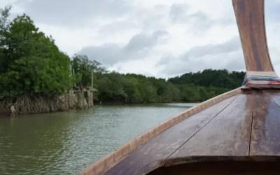 A Longboat into Phang Nga Bay – Thailand