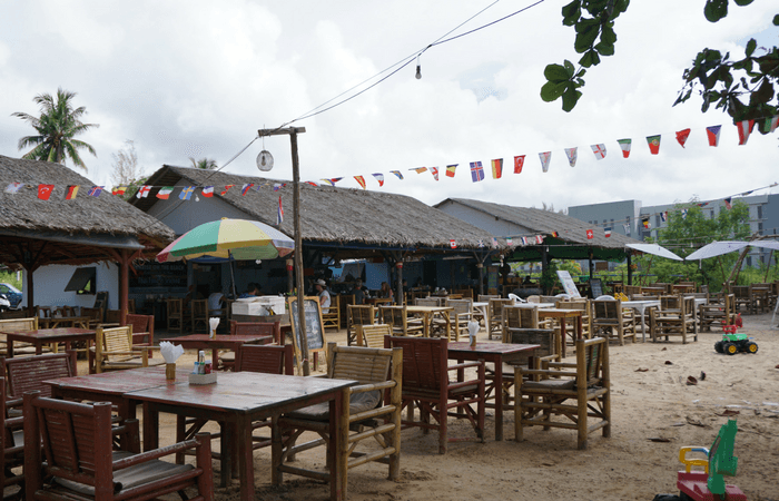 Khao Lak Beach town