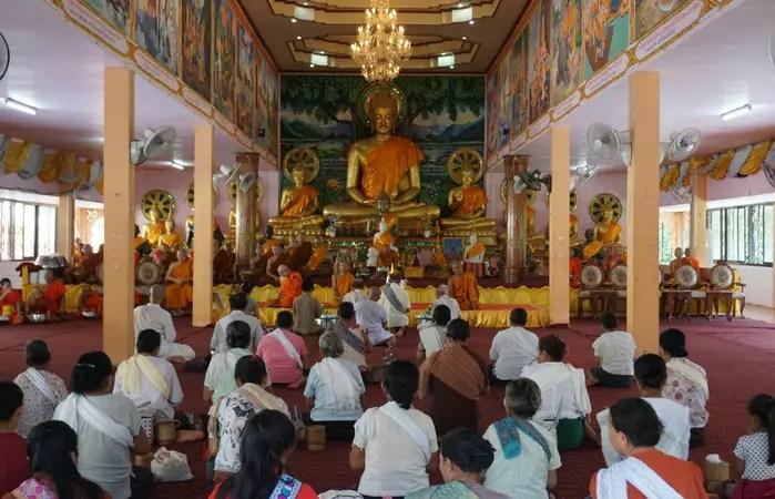 Prayer rime in Laos