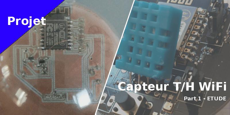 Capteur température humidité WiFi sur pile à moins de 10 euros - Etude