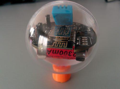 Capteur temperature humidité wifi