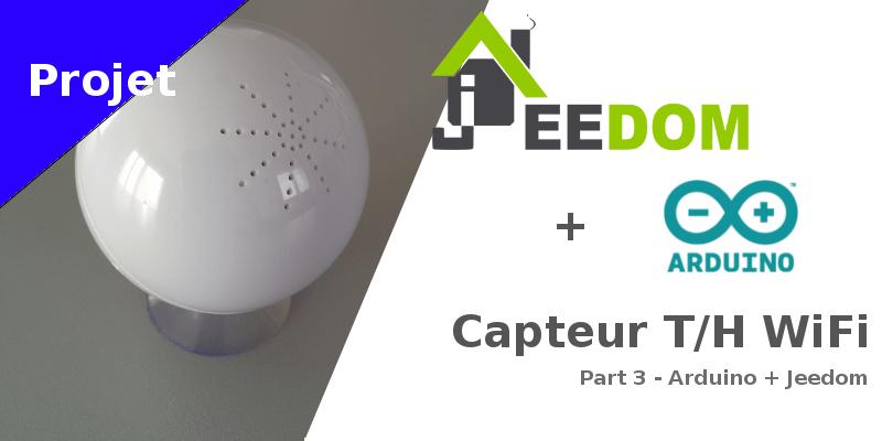 Capteur temperature humidite wifi_arduino_jeedom