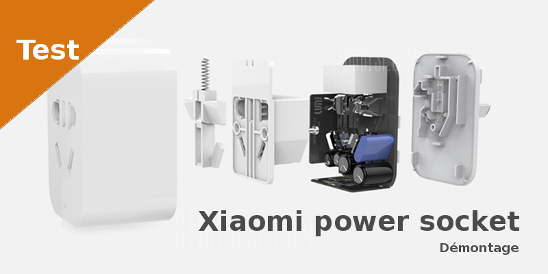 Test - Xiaomi power socket - Faire soi-même
