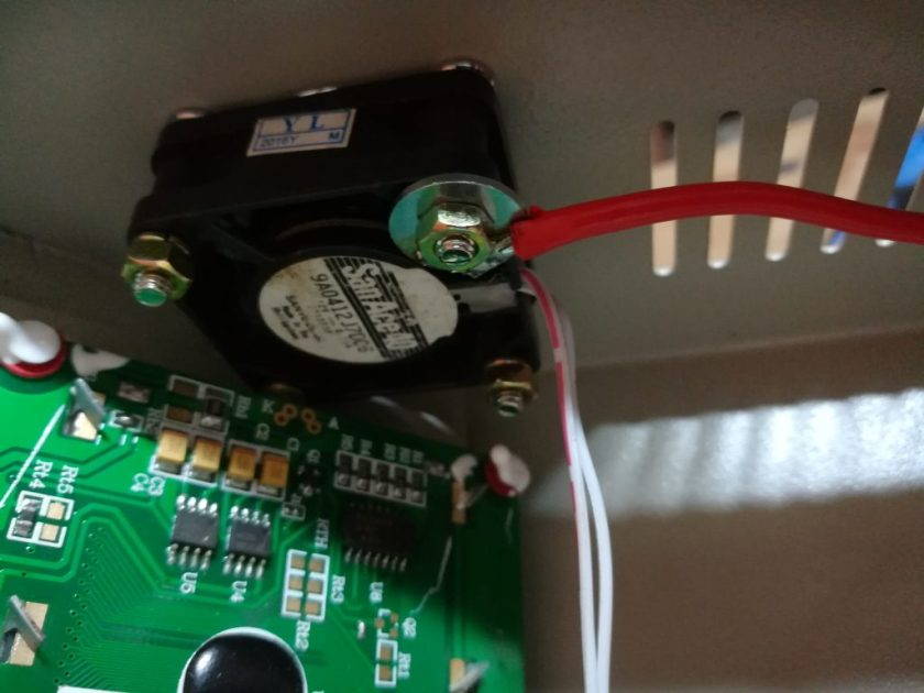fixation capot ventilateur t962