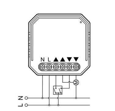 micro module volet zigbee
