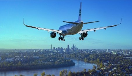 Avion et gaz à effet de serre