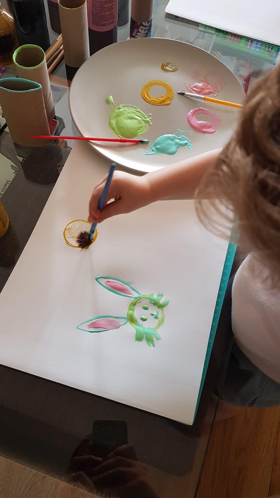 Atelier peinture pour tout petits