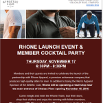 Rhone Apparel Launch and Members Cocktail Party
