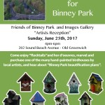 Birdhouses for Binney Park at Images of Old Greenwich