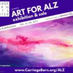 Art For ALZ Exhibition & Sale at Carriage Barn Arts Center