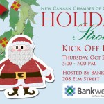 Holiday Stroll Kick Off Party at Bankwell in New Canaan
