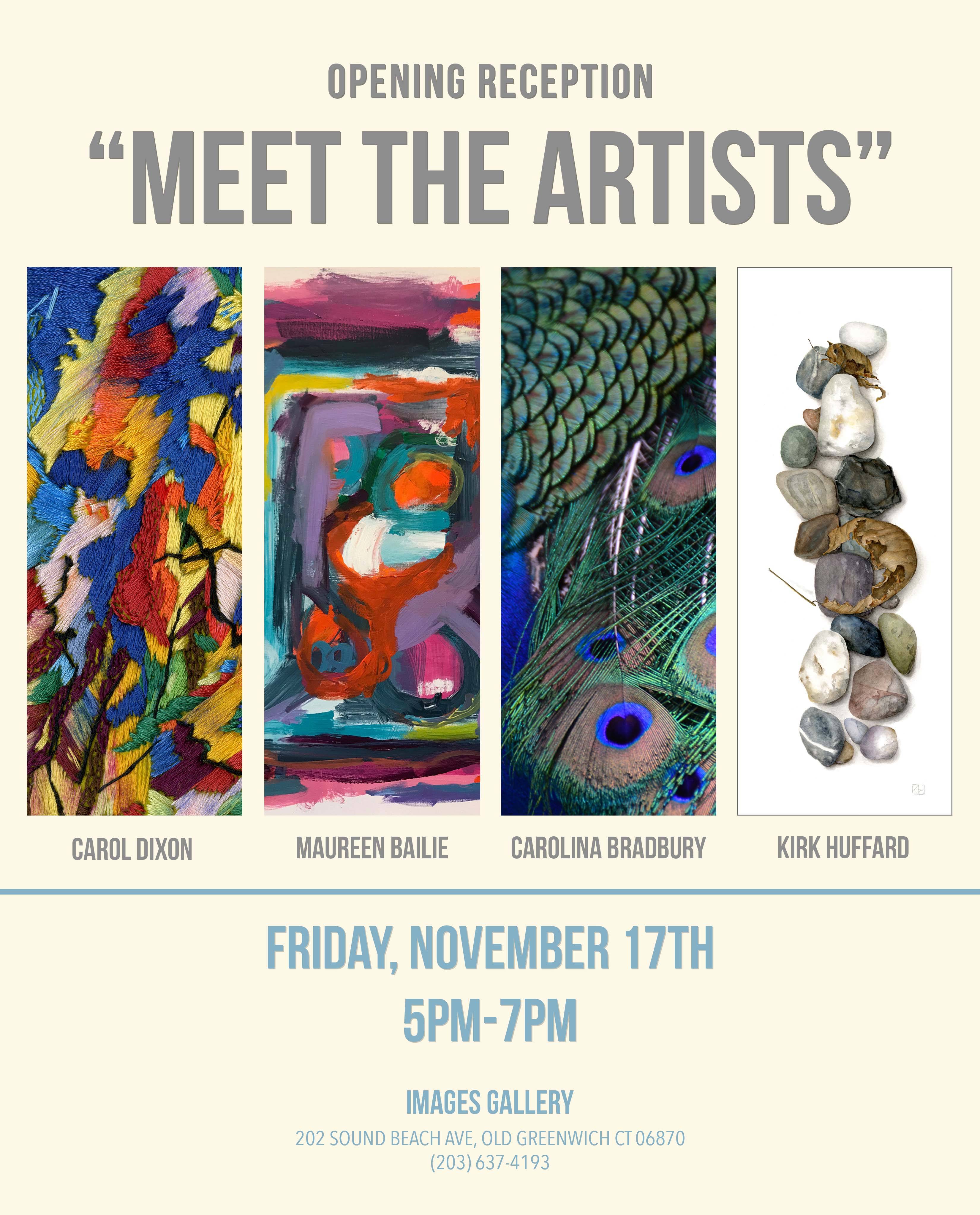 Meet the Artists at Images Gallery