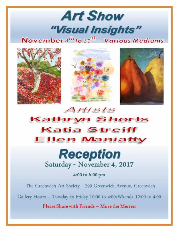 """Visual Insights"" - Collaborative Exhibition at G.A.S. Gallery"