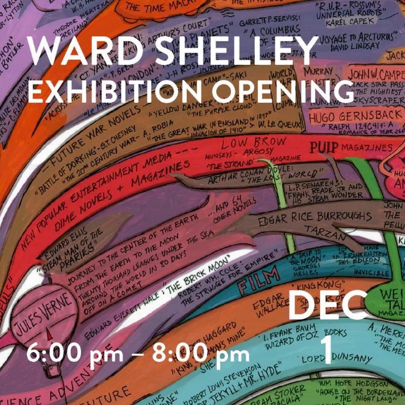 Ward Shelley's What Keeps Mankind Alive at Westport Arts Center