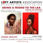 """Bring a Friend to the LAA"" at Loft Artists Association"