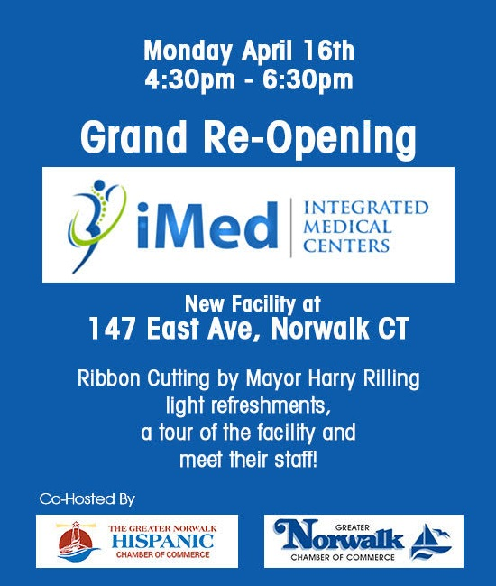 Grand Re-Opening & Ribbon Cutting Ceremony at iMED