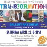 Transformation: A Gallery Art Show at St. Philip Artist's Guild