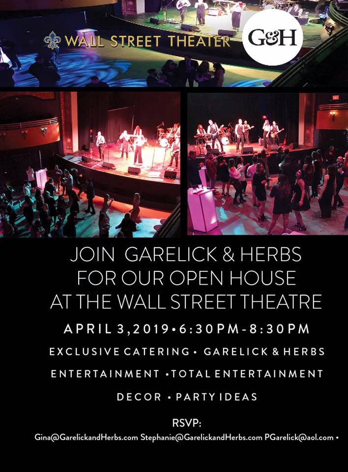 Garelick and Herbs - Open House at the Wall Street Theater