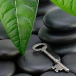 Stones with key