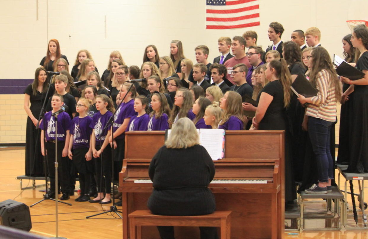 Middle And High School Host Winter Concert Eagle S Eye