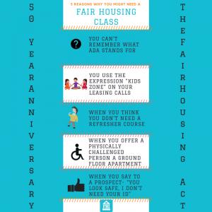 5 reasons you need a fair housing course - social media