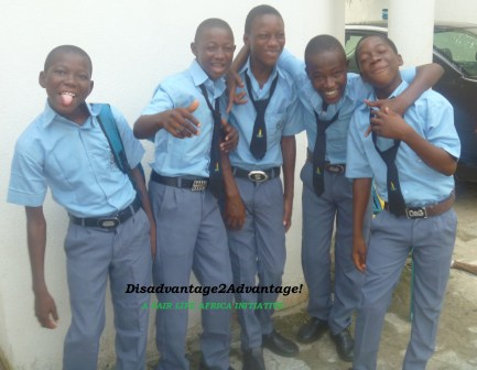 Some of the children we supported through the CCC Initiative