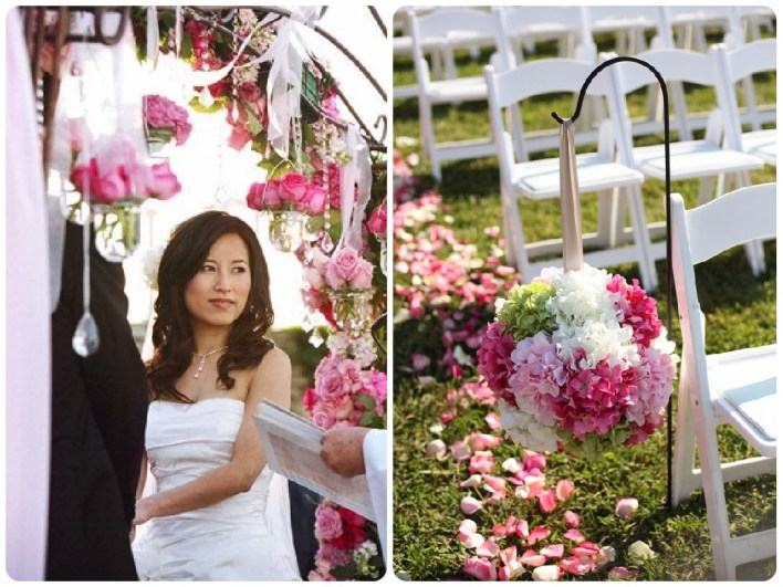 Lilly Pulitzer-Inspired Wedding Ceremony  |  Fairly Southern