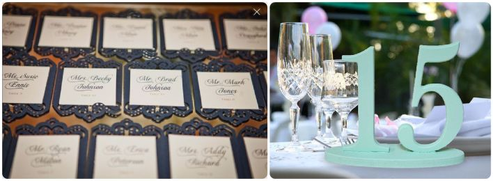 Navy + Mint Wedding Inspiration - Fairly Southern
