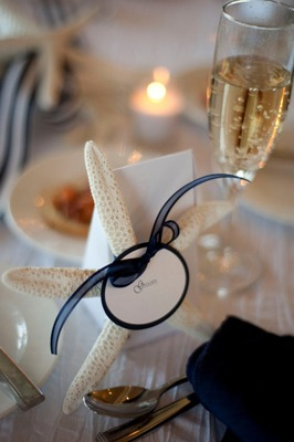 Starfish Place Card - Fairly Southern