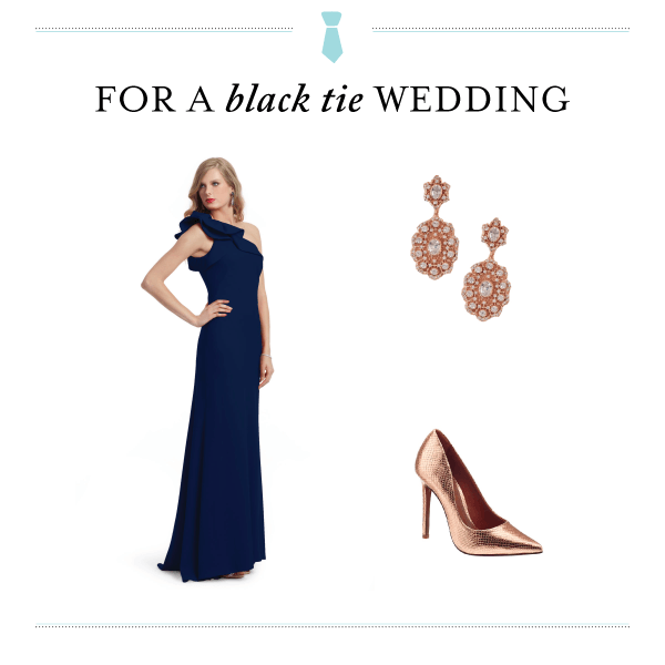 Black Tie Wedding Dress Code - Fairly Southern