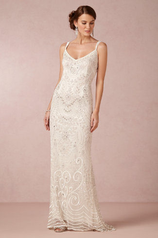 "BHLDN ""Elsa"" gown - Fairly Southern"