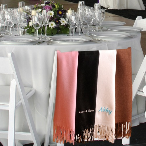 Personalized Pashmina Scarves     Fairly Southern