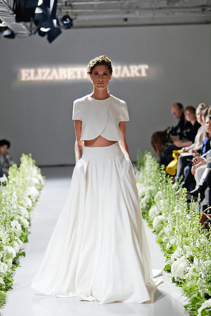 """Least Favorite Wedding Trend of 2014: Crop Top Wedding """"Dresses"""" - Fairly Southern"""