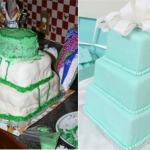 15 Disastrous Wedding Cakes That Brought Brides to Tears, via Likes - Fairly Southern