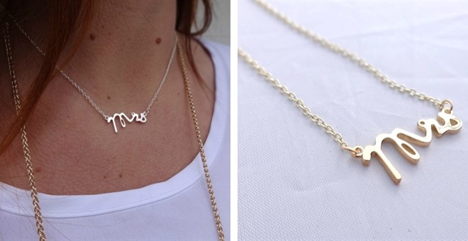 """On Sale: """"Mrs."""" Necklace - Fairly Southern"""