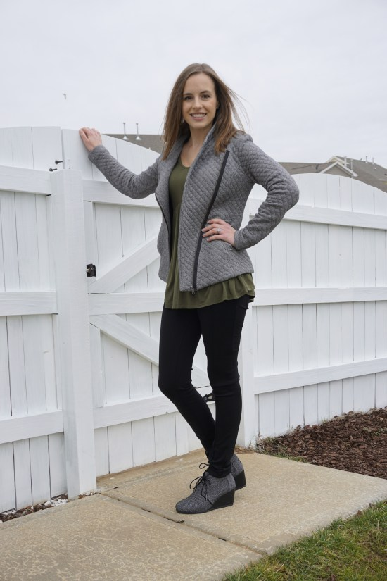 Olive + Herringbone Ethical Outfit | Fairly Southern