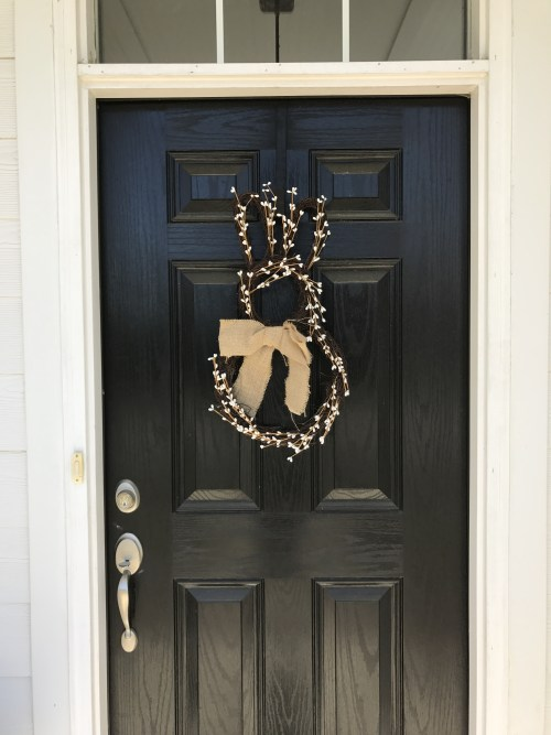 Easter Bunny Door Dec | Fairly Southern